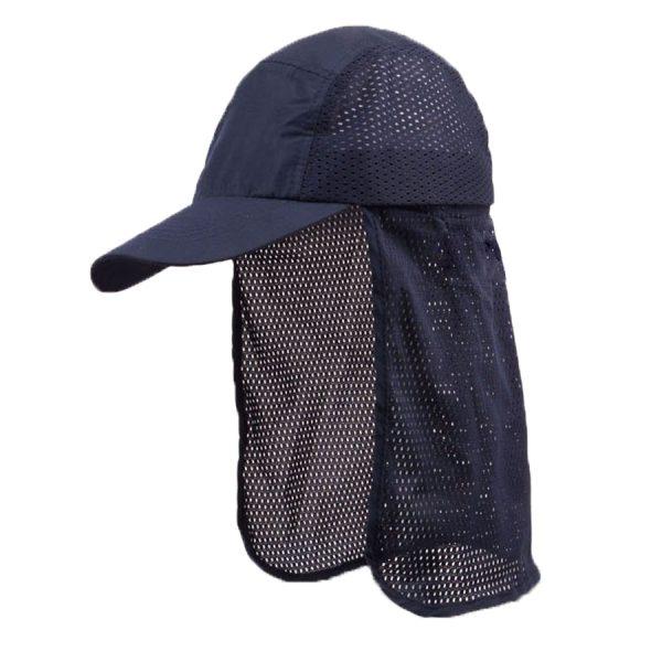 כובע ליגיונר נייבי כובע עבודה להגנה משמש