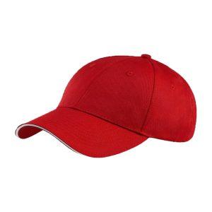כובע מצחיה סנדוויץ אדום כובע עבודה להגנה משמש