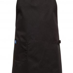 בגדי עבודה בגדי טבחים סינר טבחים שלם שחור