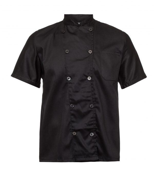 בגדי עבודה בגדי טבחים חולצת שף קצר בגדי טבחים
