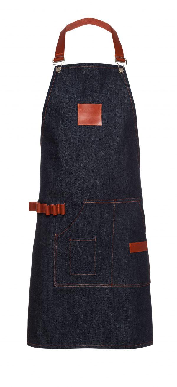 סינר למטבח שלם גינס עיצוב 1 בגדי טבחים המלביש